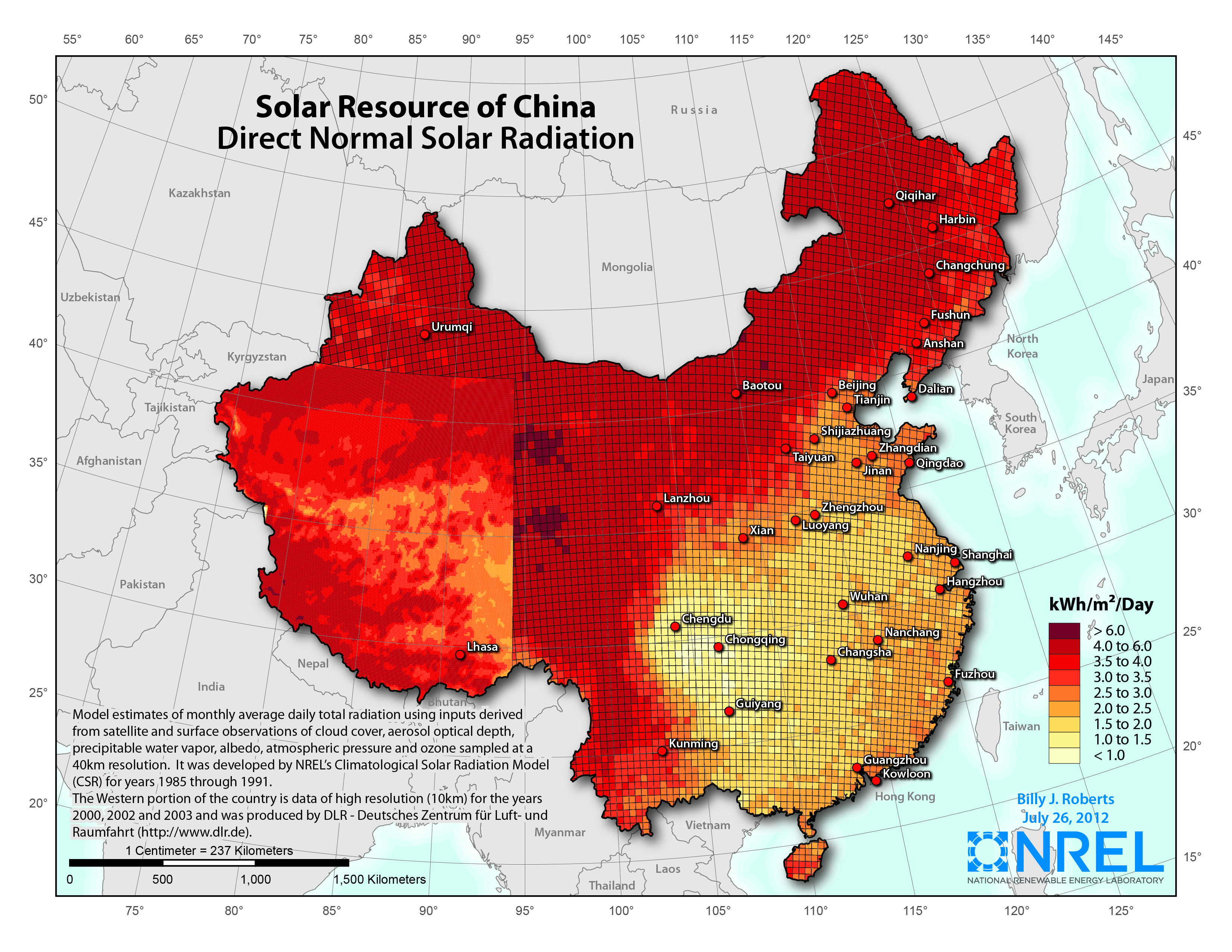 China tendrá 3.000 megavatios de termosolar (CSP) en 2020