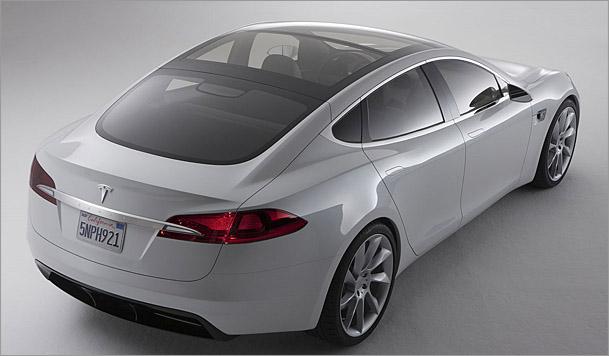 El coche eléctrico Modelo S de Tesla tendrá 500 km de autonomía