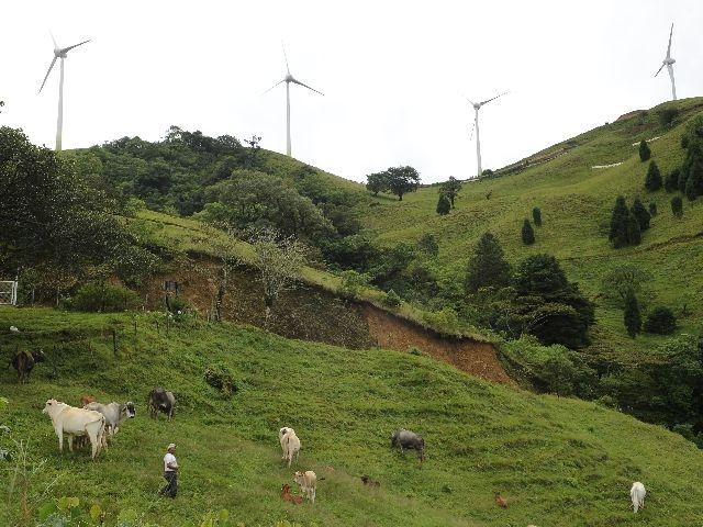 Eólica en Costa Rica: proyecto eólico del sector privado