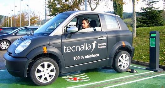 Tecnalia desarrolla un sistema de recarga inalámbrica para el vehículo eléctrico