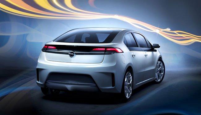Opel Ampera, el coche eléctrico más vendido en Europa