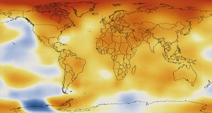 2018 fue el cuarto año más caluroso