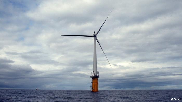 Primera plataforma flotante eólica de España