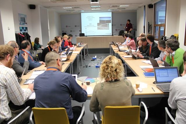 Los socios del proyecto EERA-DTOC sobre eólica offshore se reúnen en Centro Nacional de Energías Renovables