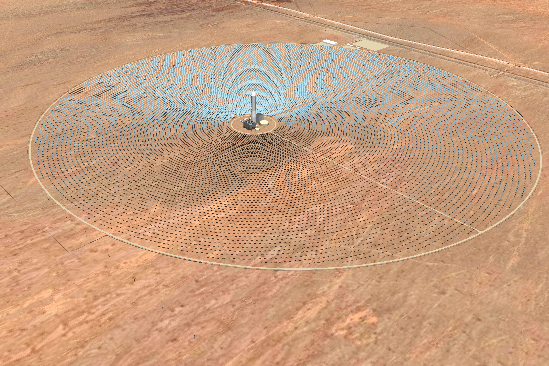 La termosolar avanza en EE UU con una nueva central de energía solar termoeléctrica de SolarReserve