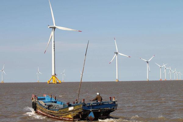 TEDA construirá central de eólica marina en China