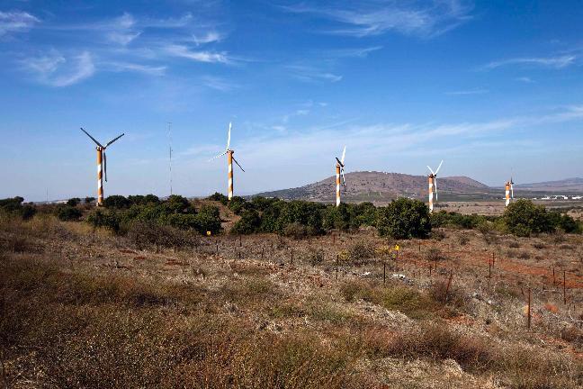 Eólica en Israel, aerogeneradores por valor de 72 millones de dólares
