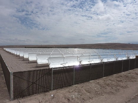 Chile proyecta una central termosolar de 50 MW