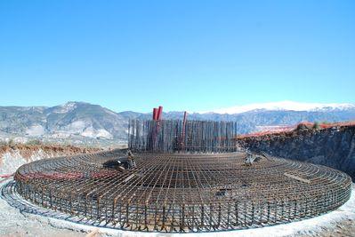 Eólica en Granada: parque eólico experimental en Padul