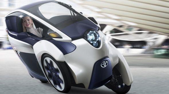i-ROAD, un vehículo eléctrico de tres plazas