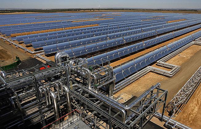 Ibereólica inaugura en Olivenza (Badajoz) la central termosolar Olivenza 1