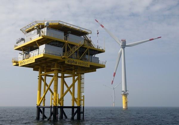 Una mega-autopista para conectar la eólica marina del Mar del Norte