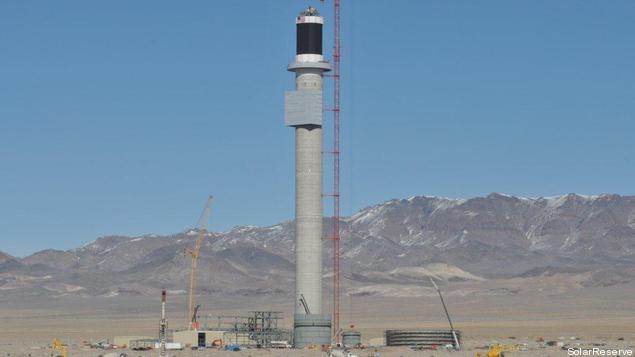 Banco Santander traspasa participación en una termosolar en Nevada