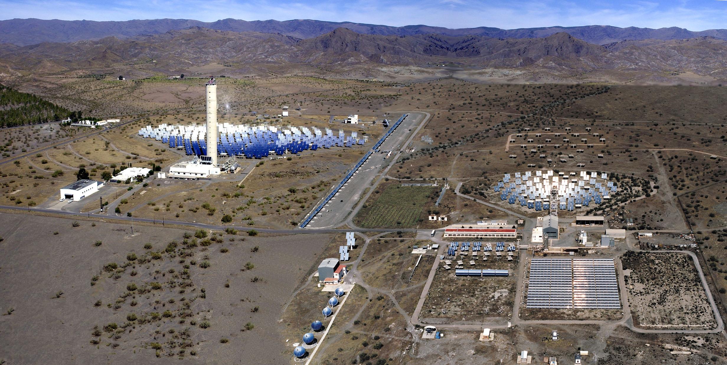 La Plataforma Solar de Almería (PSA) arrancará un proyecto termosolar