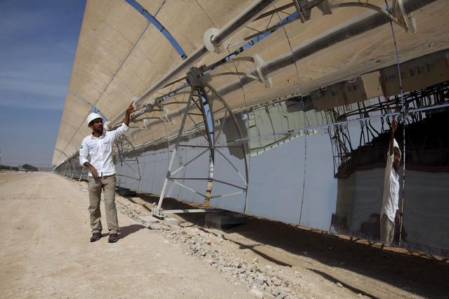 Energías renovables y termosolar: Abengoa construye una termosolar de 110 MW en Israel