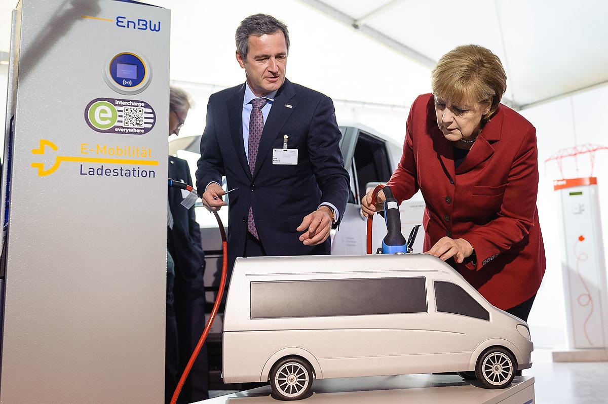 Alemania quiere un millón de vehículos eléctricos en 2020