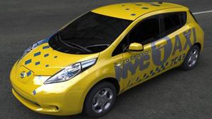 Nissan LEAF, un coche eléctrico para los taxistas