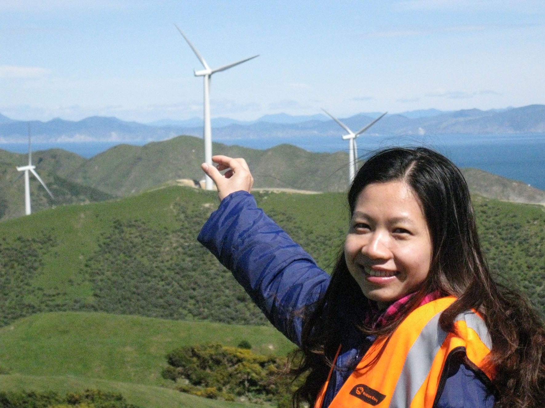 Eólica y energías renovables: Nuevo parque eólico en Binh Dinh, Vietnam.