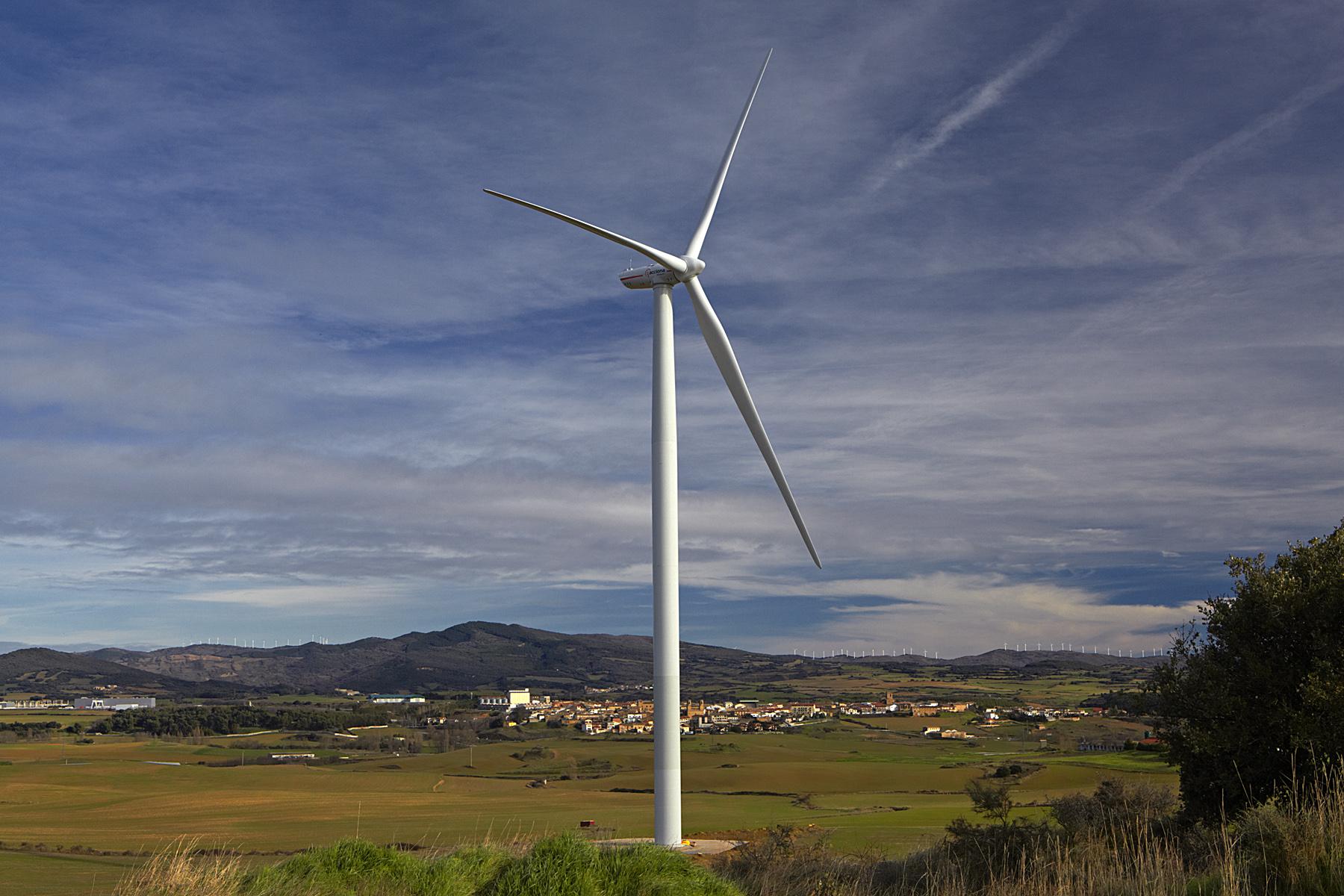 Eólica: Acciona Energía instalará su primer parque eólico