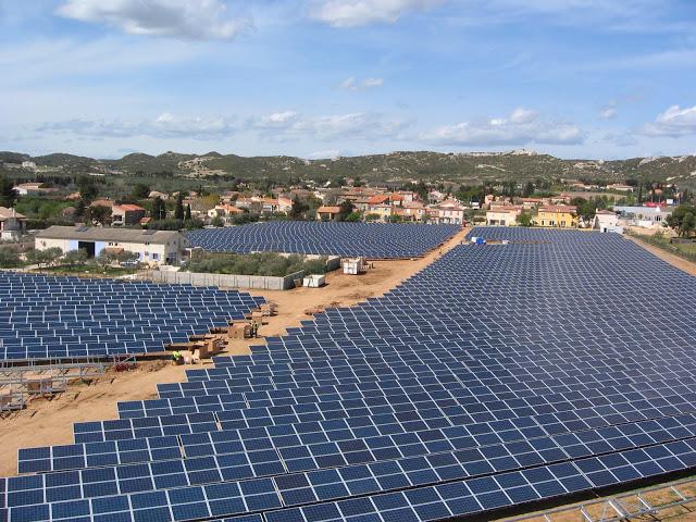 Energías renovables: Conergy construye un parque de energía solar fotovoltaica en Francia