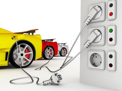 Puntos de carga para el coche eléctrico de alquiler en los hoteles canarios