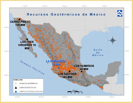 México entre los mayores países con capacidad para generación con energías renovables como la eólica y la geotérmica