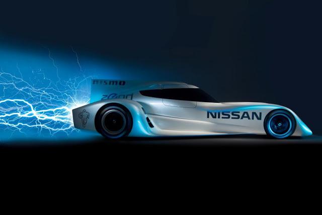 Nissan presenta el coche eléctrico más veloz del mundo en Le Mans