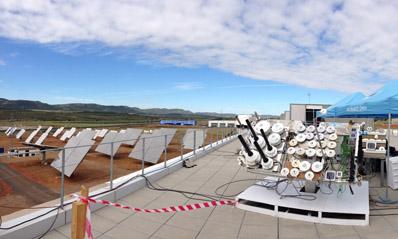 Centro Nacional de Energías Renovables participa en la 3ª Intercomparación Internacional de Espectrorradiometros y Sensores de Banda Ancha