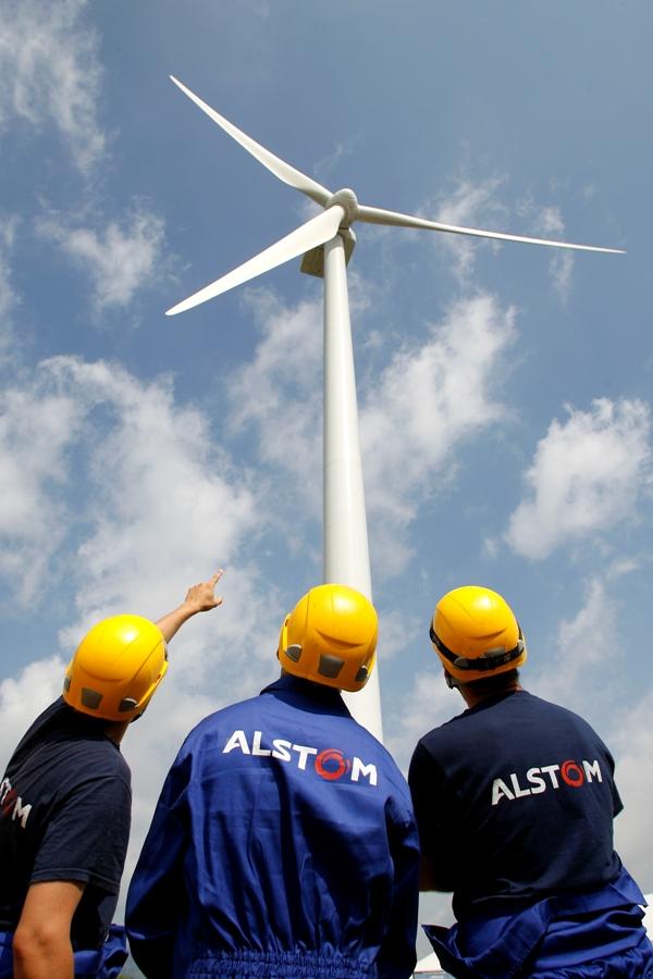 Eólica: Alstom inaugura fábrica de torres eólicas para sus aerogeneradores en Brasil