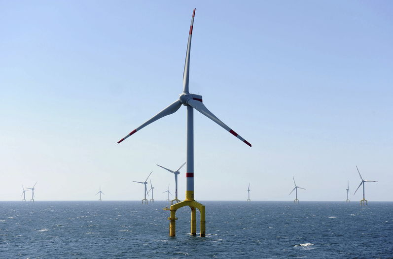 Eólica marina: nuevo parque eólico de 400 MW con aerogeneradores de Bard
