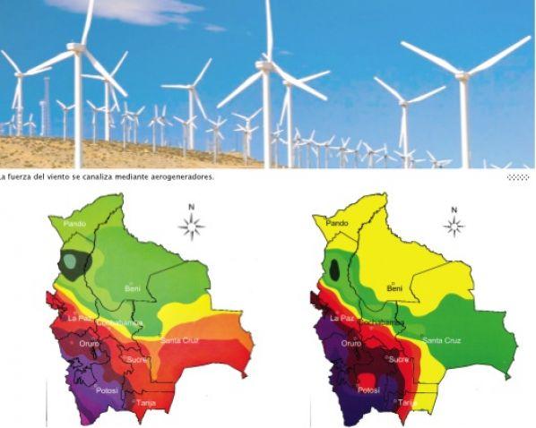 Energías renovables en Bolivia, eólica, energía solar y geotérmica