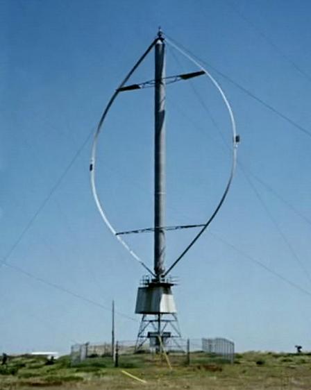Aerogeneradores de eje vertical para la eólica en Patagonia