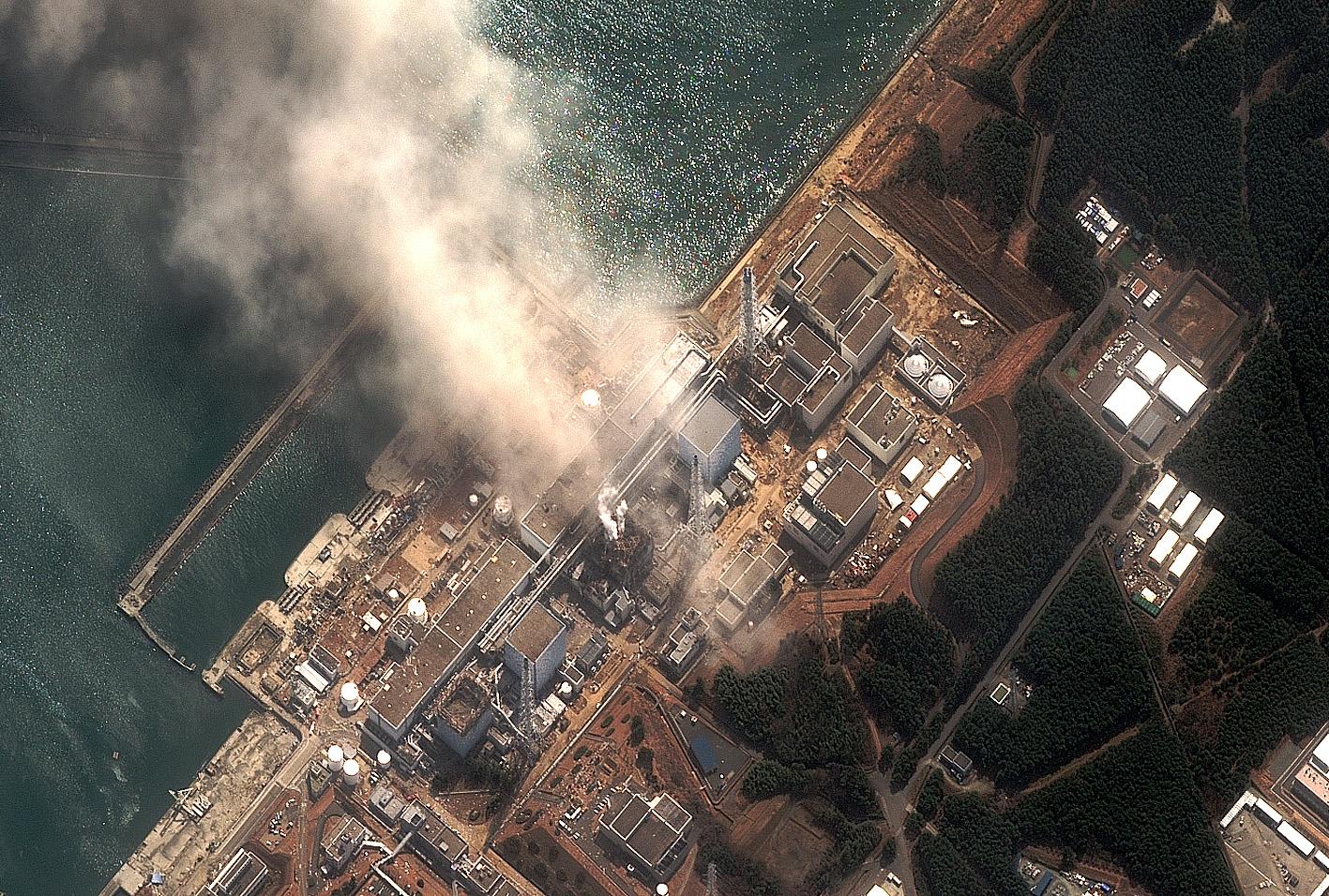 Nueva fuga de agua radiactiva en la central nuclear de Fukushima