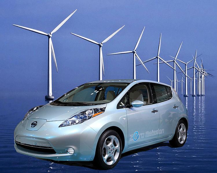 Coche eléctrico: Vehículo eléctrico LEAF de Nissan regula la red eléctrica