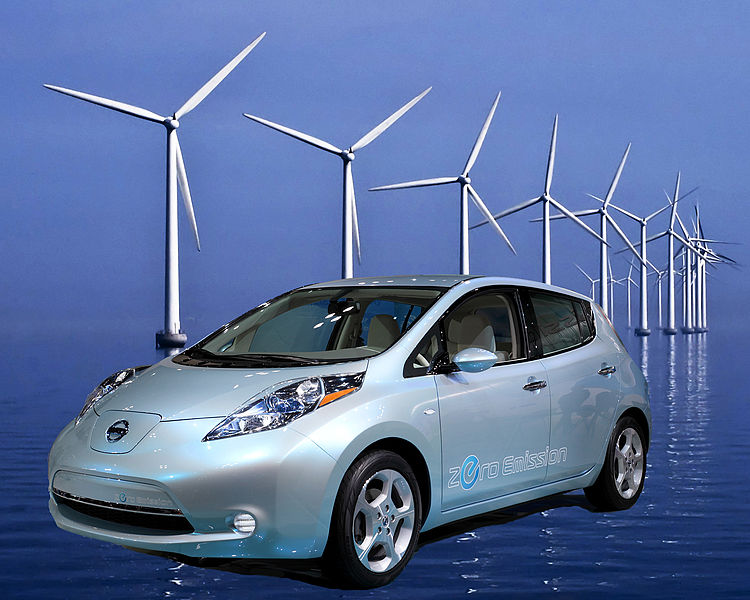 El vehículo eléctrico Nissan leaf pretende romper récord mundial