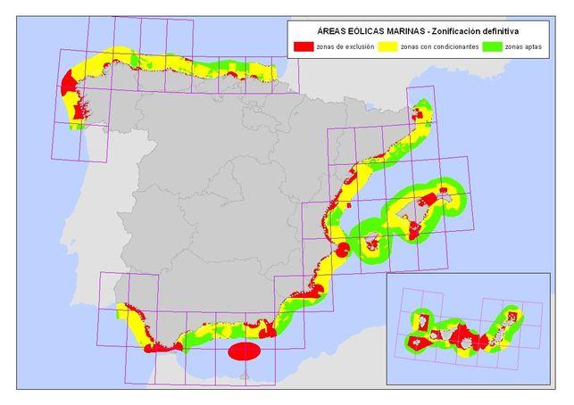 Energías renovables: La energía eólica marina no despega en España
