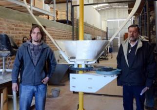 Turbina eólica patagónica: aerogeneradores de eje vertical para los vientos fuertes y racheados