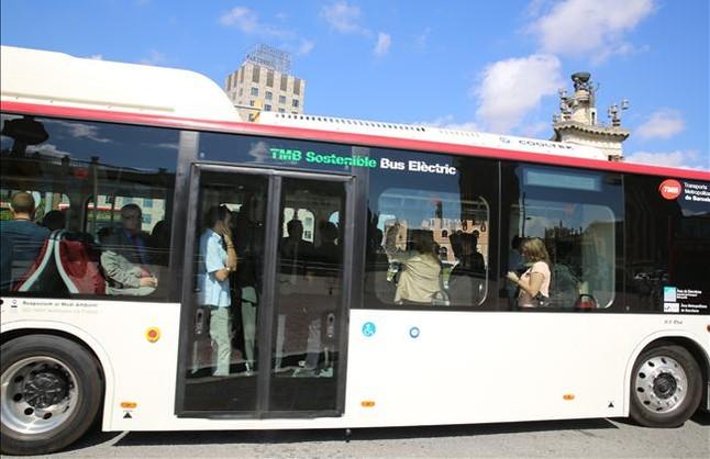 Vehículo eléctrico: Barcelona cuenta ya con un autobus eléctrico de BYD