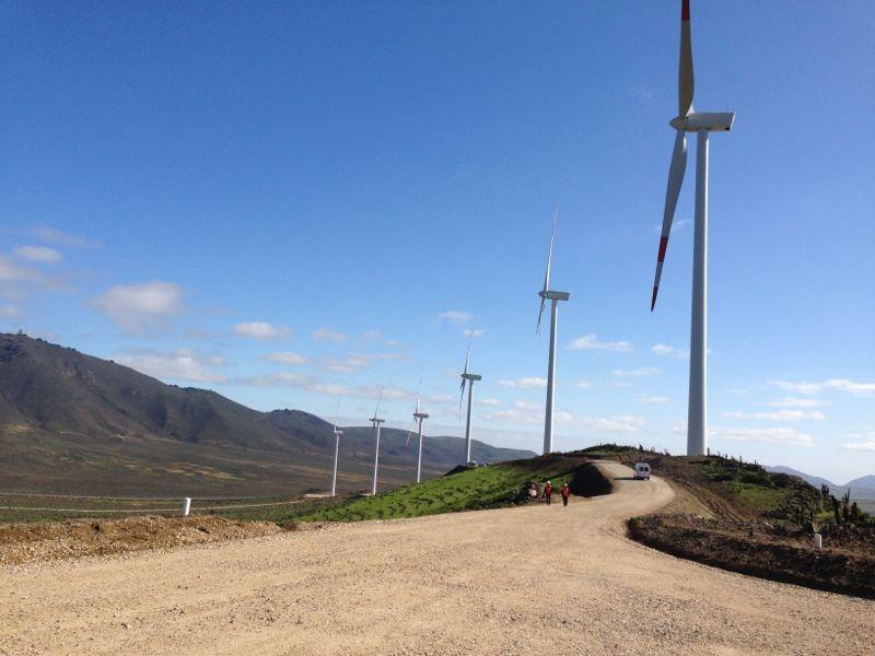 Crecen las energías renovables (eólica, energía solar, geotérmica y otras) en Chile