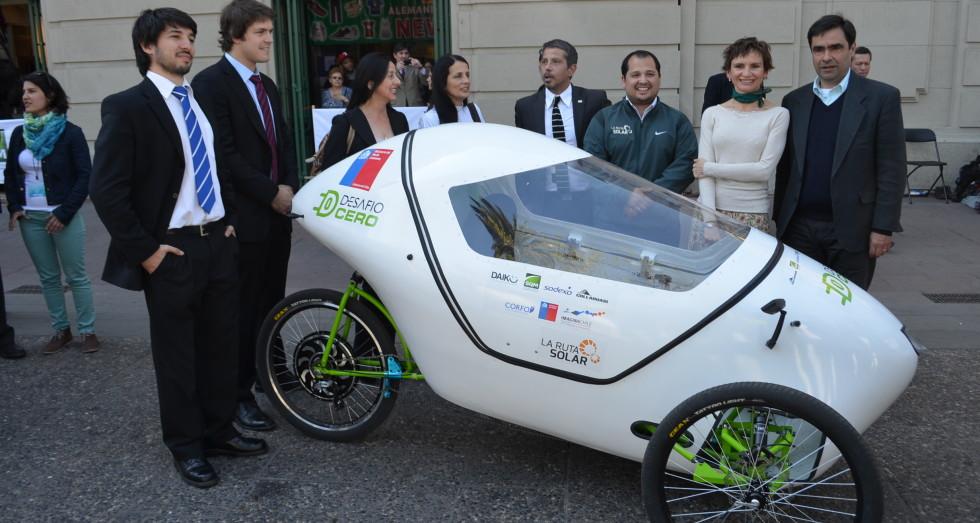 Coche eléctrico: Desafío Cero lanza sus vehículos eléctricos Vilti en Chile