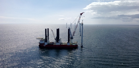 Eólica y energías renovables: Vestas desarrolla aerogeneradores de 8 MW para la eólica marina