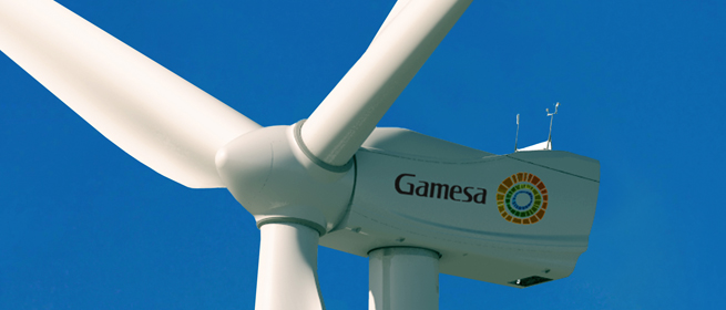 Eólica Gamesa vende otros 25 aerogeneradores en Uruguay