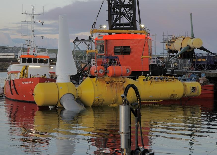 Energías renovables y maremotriz: Alstom suministra a Iberdrola turbinas mareomotrices