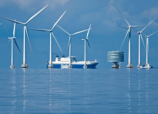 Eólica generó el 140% de la electricidad de Dinamarca