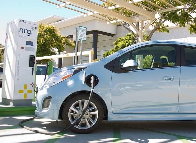 Electrolinera de Chevrolet para el vehículo eléctrico