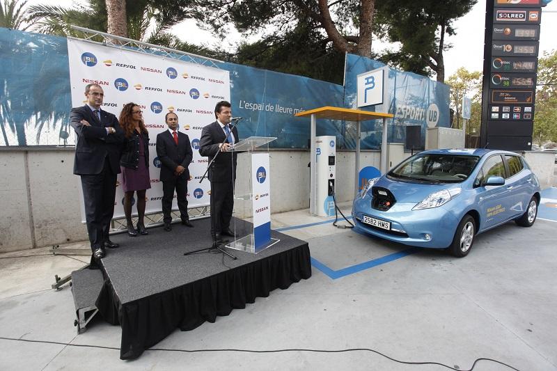 Vehículo eléctrico: carga rápida del coche eléctrico en Barcelona