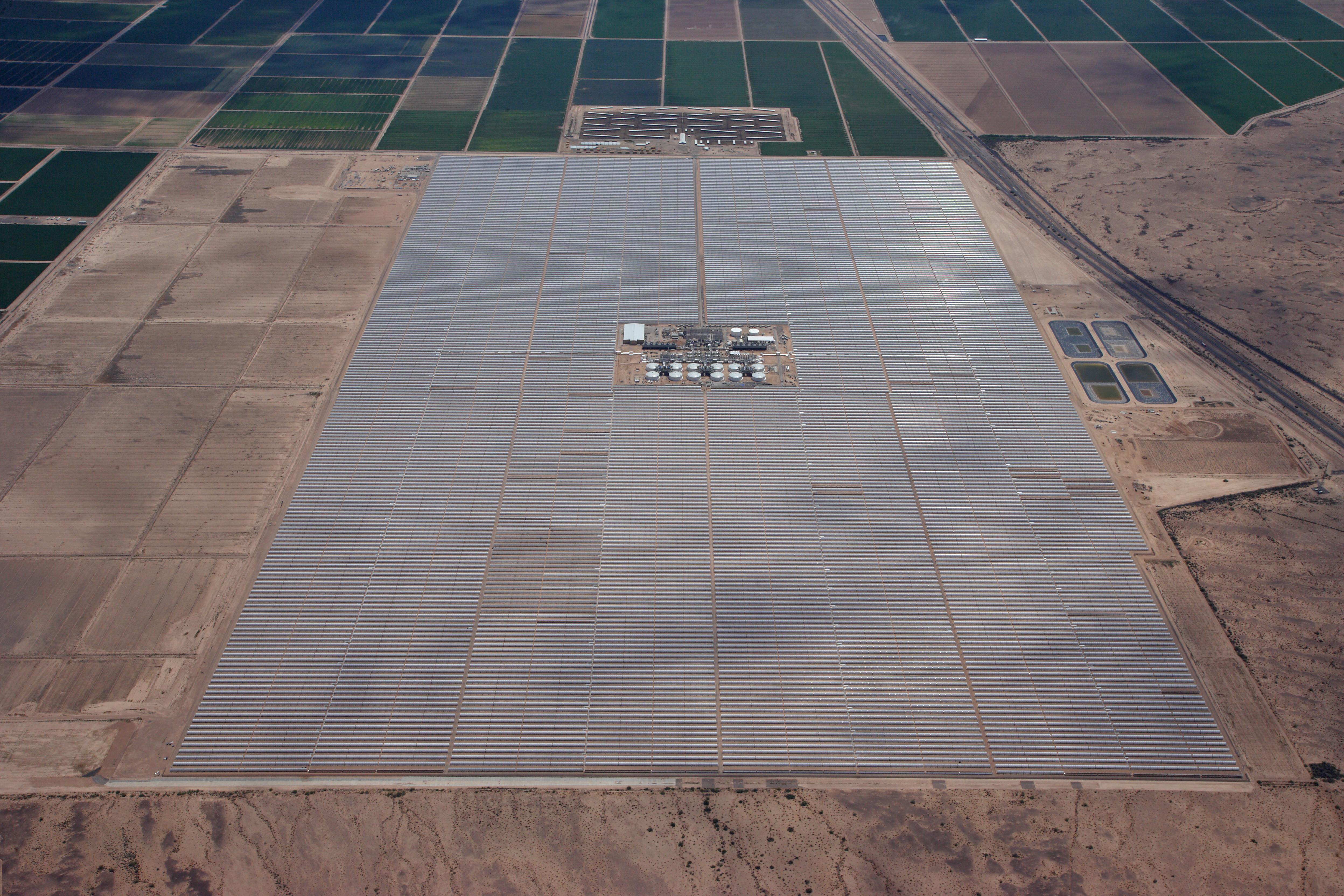 Termosolar y energías renovables: Entra en funcionamiento la termosolar Solana de Abengoa con 280 MW
