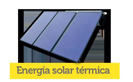 Energías renovables: Energía solar térmica para agua caliente