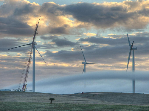 Energías renovables y eólica en Jordania: parque eólica de MTOI