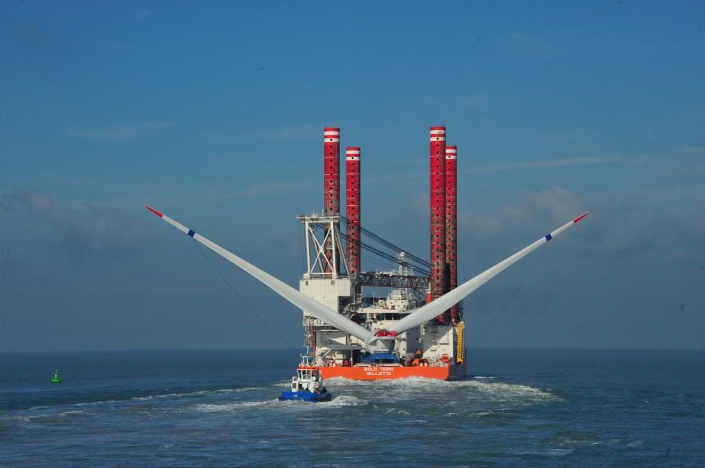 Empresas españolas diseñan un nuevo buque para la eólica marina